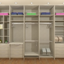 Closet Rendered