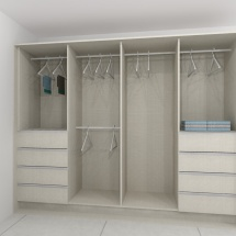 Enclosed Closet
