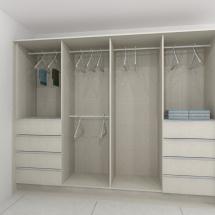 Enclosed Closet
