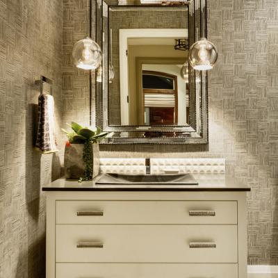 Half Bath in Luxury Home